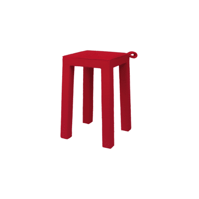 tabouret handle rouge tema home zeeloft