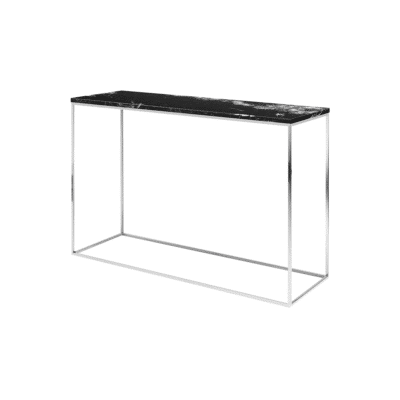 console gleam noir chrome tema home zeeloft