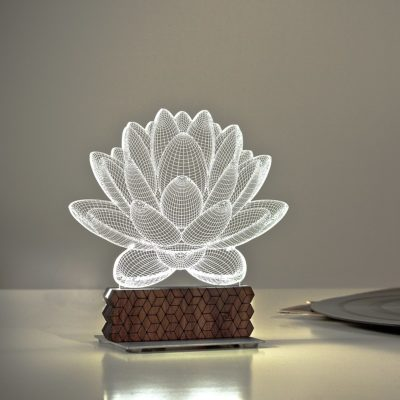lampe lotus 2nd generation zinteh zeeloft