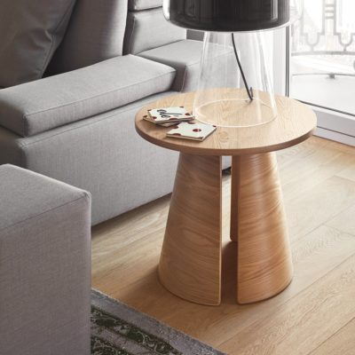 table d'appoint cep bois naturel teulat zeeloft