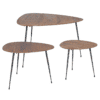 tables basses gigognes boscage lot 3 bizzotto zeeloft