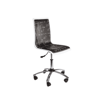 chaise de bureau young smoke bizzotto zeeloft