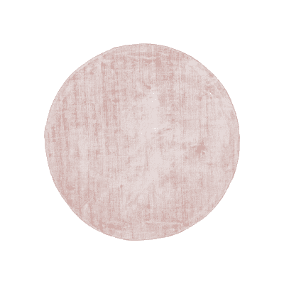 tapis rond cottage rose bizzotto zeeloft