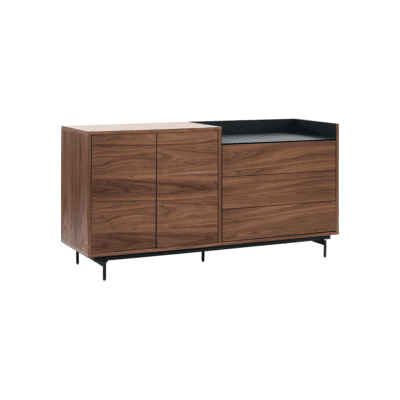 buffet valley noyer bleu teulat zeeloft