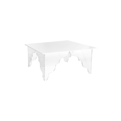 Table basse Ottino rectangle blanc iplex zeeloft
