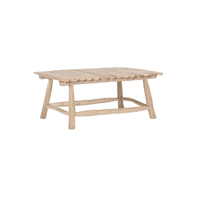 Table basse Sahel naturel Teck bizzotto zeeloft