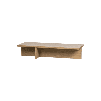 table basse angle chêne bepurehome zeeloft
